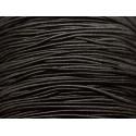 5 metros - Hilo de cordón de tejido elástico de nailon 1 mm Negro - 8741140018808
