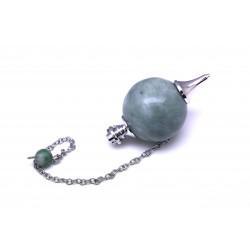 Groene jade bolslinger 30 mm