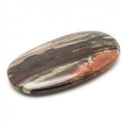 Pebbles 140 gr rode brecciated jaspis