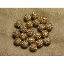 Polymer Beads 8mm and 10mm Strass Round