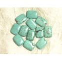 Other Shapes Synthetic Turquoise Beads
