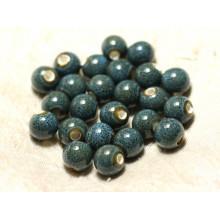 Perles Céramique Porcelaine