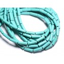 Synthetic Turquoise Beads Tubes