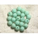 Resin Beads 12x10mm