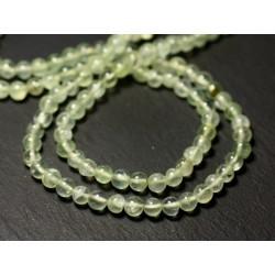 20pc - Perles de Pierre - Phrénite Boules 4mm - 8741140011533