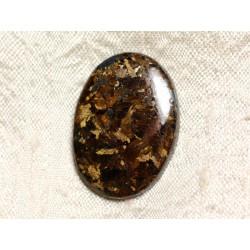 Cabochon de Pierre - Bronzite Ovale 31mm N32 - 4558550087201