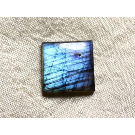 Cabochon de Pierre - Labradorite Carré 21mm N43 - 4558550084972
