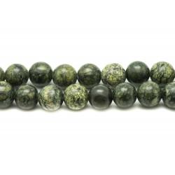 10pc - Perles de Pierre - Serpentine Boules 10mm 4558550031112