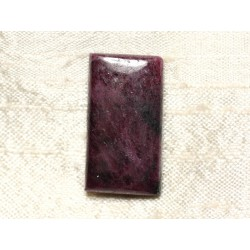 Cabochon de Pierre - Rubis Zoïsite Rectangle 29x16mm N38 - 4558550081483