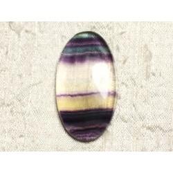 Cabochon de Pierre - Fluorite Ovale 43x24mm N25 - 4558550080165
