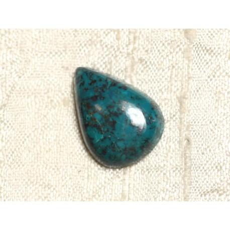 Cabochon Pierre semi précieuse - Azurite Goutte 22x16mm N3 - 4558550079268