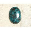 Cabochon Pierre semi précieuse - Azurite Ovale 30x22mm N16 - 4558550079398