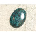 Cabochon Pierre semi précieuse - Azurite Ovale 28x21mm N18 - 4558550079411