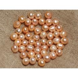 Perles de Culture 5-6mm Roses - Sac de 10pc 4558550036681