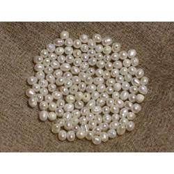 Perles de Culture 2-3 mm Blanches - Sac de 20pc 4558550036841