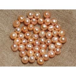 Perles de Culture 6-7mm Roses - Sac de 10pc 4558550037268