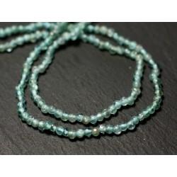 Fil 33cm 159pc env - Perles de Pierre - Apatite Boules 2mm - 8741140012370