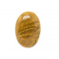 N3 - Cabochon de Pierre - Bois Fossile Ovale 30x21mm - 8741140006188
