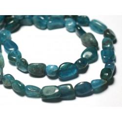 1pc - Perles de Pierre - Apatite Ovales Facettés 14x10mm - 7427039728768